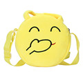2016 hot sale best price Cute Emoji Emoticon Shoulder School Child BagHandbag wholesale