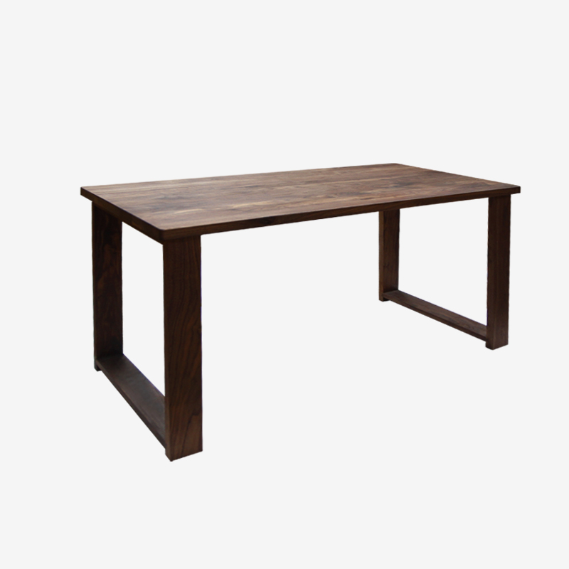 MUMO wood wax processing all solid wood dining table black  : MUMO wood wax processing all solid wood dining table black walnut wood table ink timber dining from www.aliexpress.com size 800 x 800 jpeg 72kB