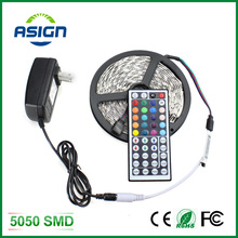 Buy LED Strip Light 5050 5M 300Led SMD RGB 60LED/M Lamps DC12V Flexible Light + 44key IR Remoter + 3A Power Lighting 5M/Roll for $8.99 in AliExpress store
