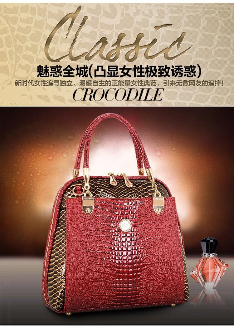 New Arrival Women Handbag Genuine Leather Bags Fashion Messenger
