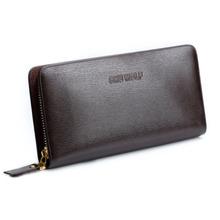 Brand 2015 Men Leather Wallet Fashion Long Wallet Clutch Men's Casual Purse Famous Designer Hand Bag Carteiras Masculinas