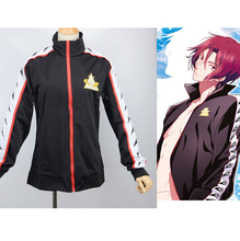 Free!  Iwatobi Swim Club Rin Matsuoka Volleyball Club High School Uniform Jacket Coat Suit Cosplay Costume