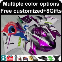 Buy purple white motorcycle cowl Yamaha YZF-R6 1998-2002 98 99 00 91 92 YZFR6 1998 1999 2000 2001 2002 ABS Plastic Fairing for $333.00 in AliExpress store
