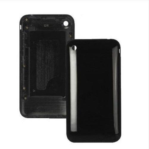 Free shipping Rear back battery door case cover for Apple iPhone 3G - Black(China (Mainland))