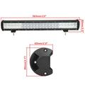336W 23 Inch 5D 2 Row LED Bar CREE Chips Combo Beam Work Light Offroad Driving