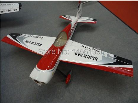 Slick 540 50CC RC Model Plane / gas engine / Carbon Fiber accessories ARF(China (Mainland))