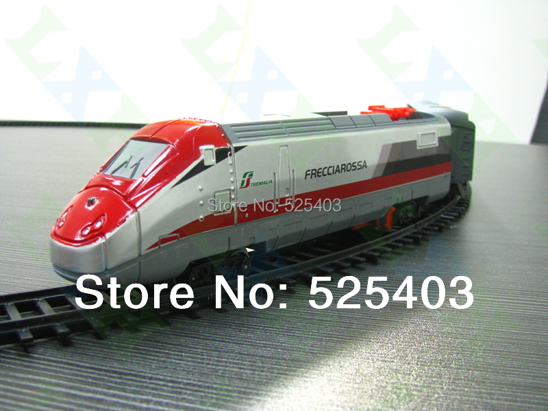 Railway toy electric Subway Train Toys 14pcs / sets Model Railroad Train 1/87 Track Electric rail car for Child Toys Gifts(China (Mainland))