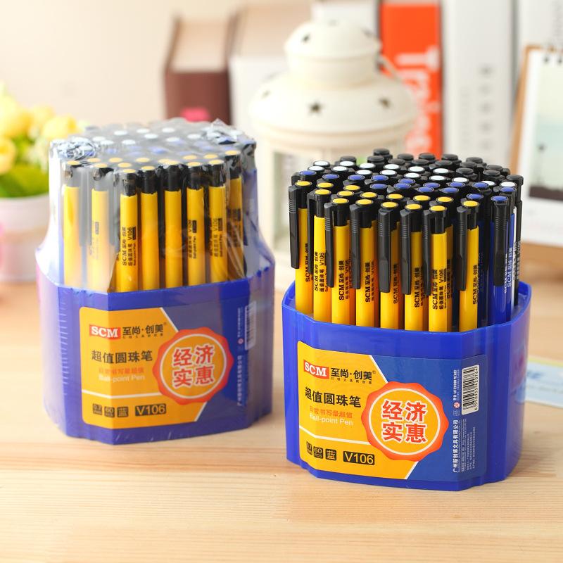 Office and School Pen High Quality Ballpoint Pen 60 Pieces/lot Ball Point Pen<br><br>Aliexpress