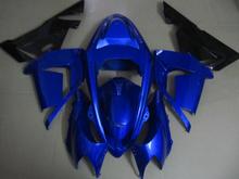 Buy Motorcycle Fairing kit KAWASAKI Ninja ZX10R 2004 2005 ZX10R 04 05 ZX 10R Blue black ABS Plastic Fairings set+7 gifts SD02 for $342.95 in AliExpress store