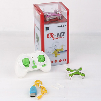 Cheerson CX-10 CX10 Mini 2.4G 4CH 6 Axle LED RC Quadcopter RTF