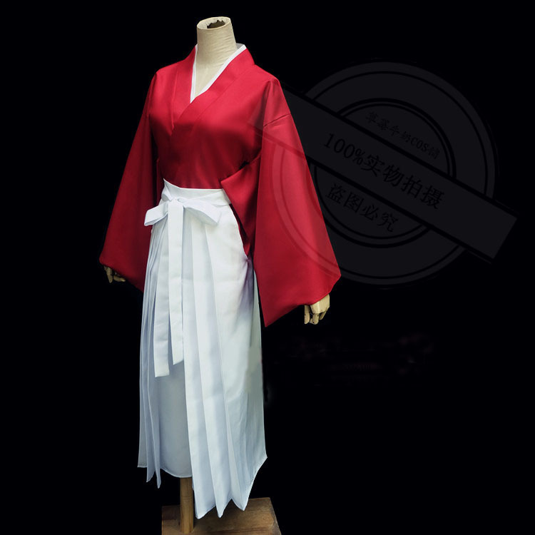COSPLAY anime Rurouni Kenshin of Kenshin cos services, red spotОдежда и ак�е��уары<br><br><br>Aliexpress