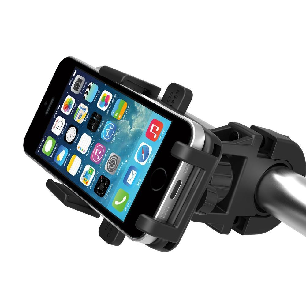 Universal One Touch Bike Phone Mount Holder 360 degree rotations Bicycle Motorcycle Stand for Smartphone iPhone