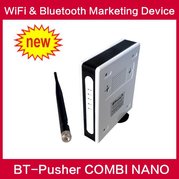 BT-Pusher wifi bluetooth mobiles marketing device COMBI NANO(advertisement product )(China (Mainland))
