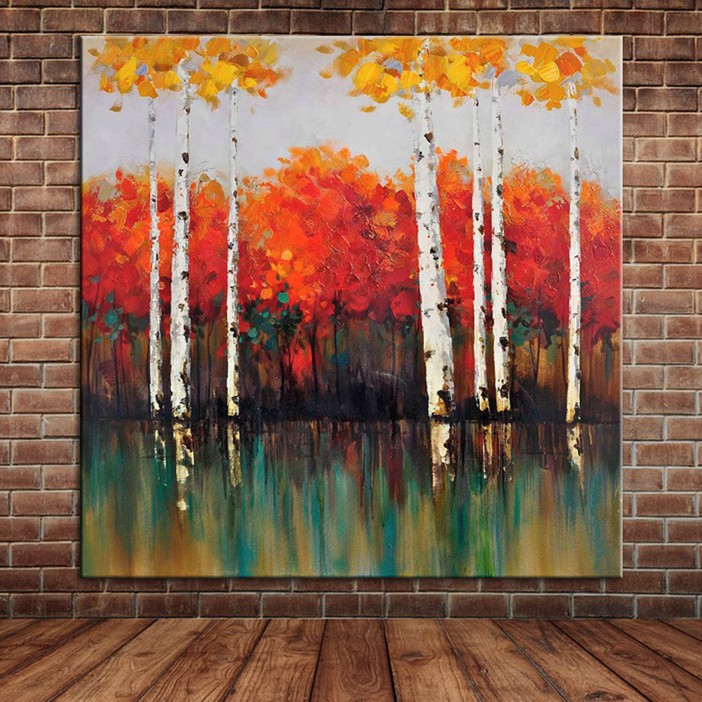 Red birch trees promotion shop for promotional red birch - Decorative trees with red leaves amazing contrasts ...