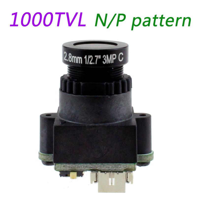 RC FPV Mini Digital Video Camera FPV-1000TVL 1000 Line for Aerial Photography N/P Pattern 2.8mm 3MP(China (Mainland))