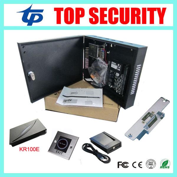 ZK door access control system single door access control C3-100 access control panel linux system(China (Mainland))