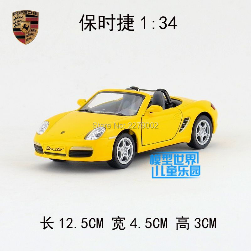 KINSMART Die Cast Metal Models/1:34 Scale/Boxster S toys/for children's gifts or for collections(China (Mainland))