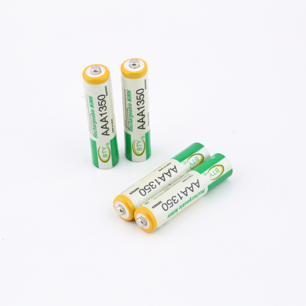1Set Eco friendly 1 2V AAA 3A 1350mAh Ni MH Rechargeable Battery for Wireless mouse RC
