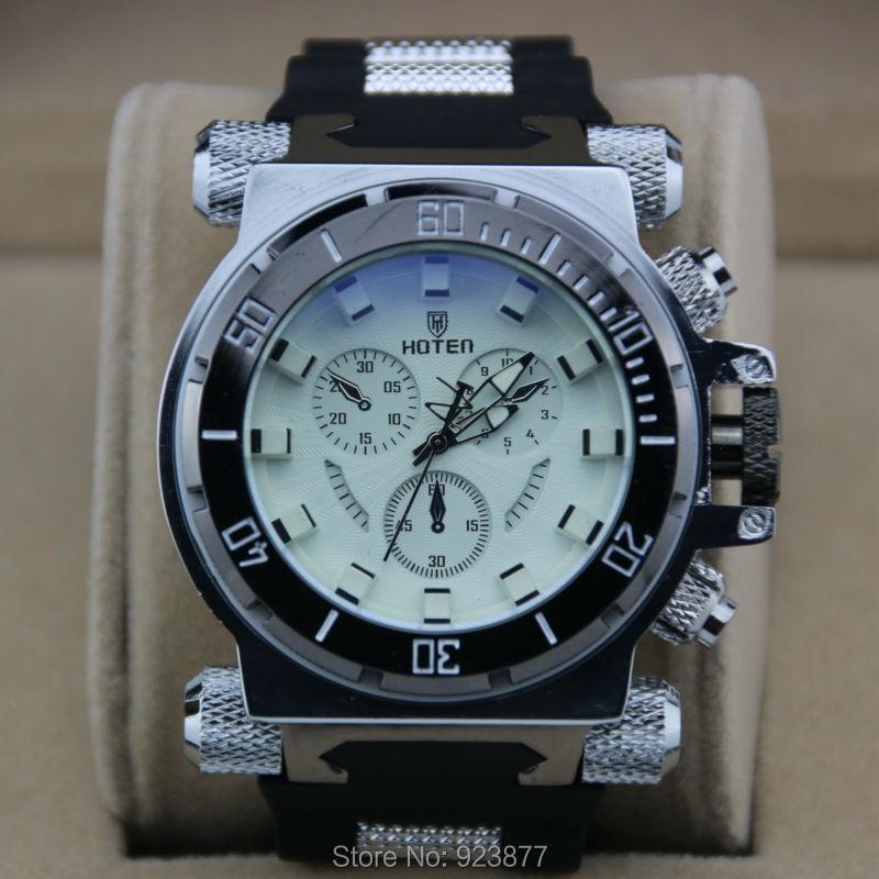 Wholesale Fashion Famous Luxury Brand Watch Men Chronograph Sports Watches Big Wrist Watches 100pcs/lot(China (Mainland))
