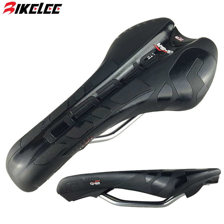 New Design 2015 Black Bicycle Saddle Mountain Road Bike Seat Cushion PU Leather High Quality Foaming Cycling Saddle Bicycle Seat<br><br>Aliexpress