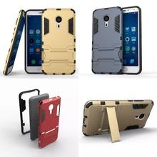 Meizu M3 Note Impact Cover Iron Man Armor Phone Case Meizu MX5 MX6 Pro 6 5 Meizu M3S M3 M5 mini Meizu U10/ 20 Stand Holder Cases