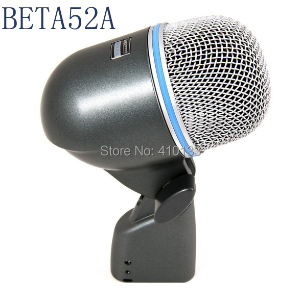 Free shipping BETA 52A 52 A bass guitar drum kit percussion musical instrument Dynamic Microphone mic mike<br><br>Aliexpress