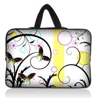 """Colorful 10"""" Laptop Sleeve Bag Case Pouch+Hide Handle For 9.7""""-10.2"""" Apple,ASUS,ACER,Sumsang,HP,DELL Netbook Laptop Tablet(China (Mainland))"""