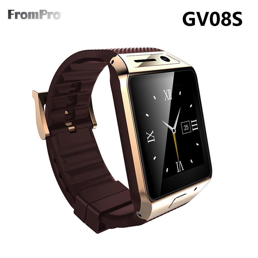 2015 Update GV08S Smart Watch FV08S 1 5 inch 2 0M camera Support SIM card Bluetooth