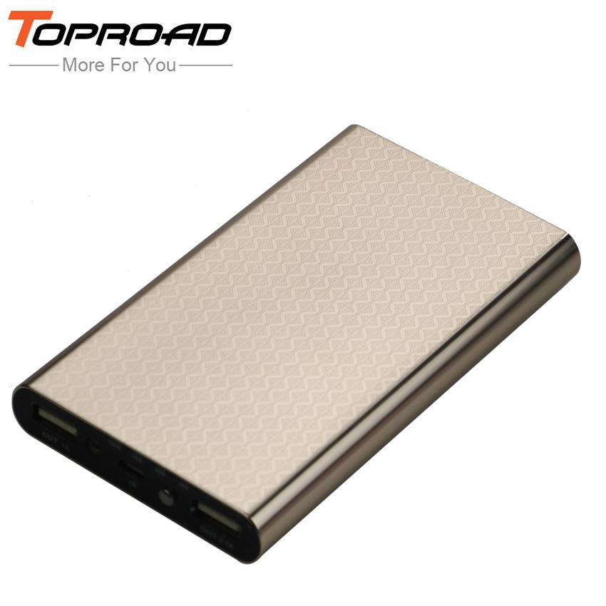 Portable Power Bank 10000 mAh Dual USB External Mobile Phones Battery Charger Backup bateria externa Powerbank For iPhone 5 6 6s(China (Mainland))