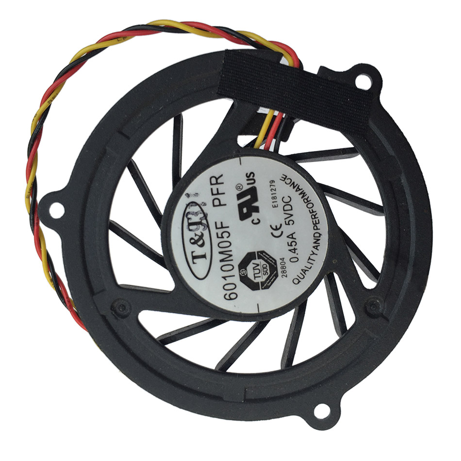 New Original Cpu Cooling Fan For MSI EX610 M670 MS-1623 6010M05F PFR Laptop Cooler Radiators Cooling Fan Free Shipping(China (Mainland))
