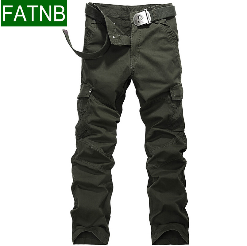 Military Style Cargo Pants Men Pockets Design Breathable ...
