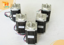 Buy Wantai 5PCS Nema 23 Stepper Motor Single Shaft 57BYGH115-003 3.0A 425oz-in 2.8N.m 30kg-cm115mm CE ROHS ISO Embroidery 3D Printer for $108.29 in AliExpress store