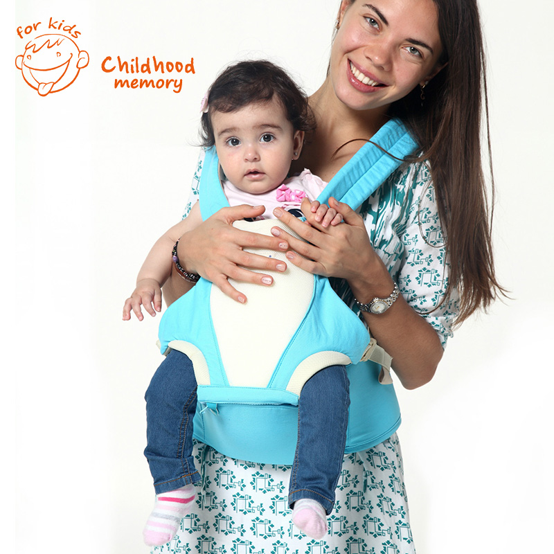 2 In 1 Hip Seat Baby Carriers Wrap Bag 2-30 Months Breathable Backpack Light Multifunctional Sling Toddler Kangaroo Infantil<br><br>Aliexpress