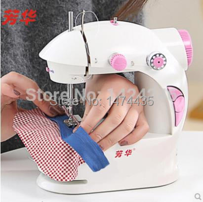 2015 Hot Sell pink multi purpose household mini sewing ...