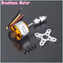 1pcs A2212 Brushless Motor 930KV 1000KV 1400KV 2200KV 2700KV For RC Aircraft Plane Multi-copter Brushless Outrunner Motor(China (Mainland))