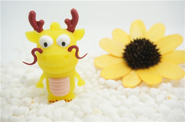Best selling new style dragon baby 4-64gb usb flash drive cartoon doll pen drive animal/wholesale discount USB creativo S727(China (Mainland))
