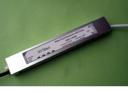 waterproof constant current led driver; AC90-250V input;700ma/35W output;CE and ROHS approved;P/N:YL-50700L