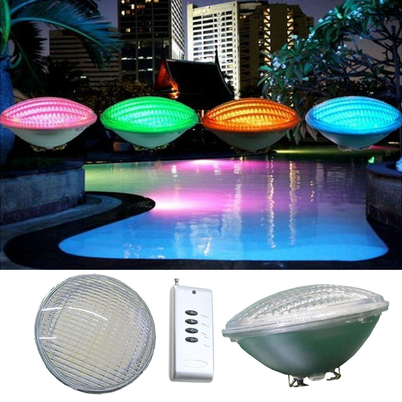 Hot sale!AC12V 40W RGB PAR56 High Power LED Swimming Pool Light Underwater light Free shipping<br><br>Aliexpress