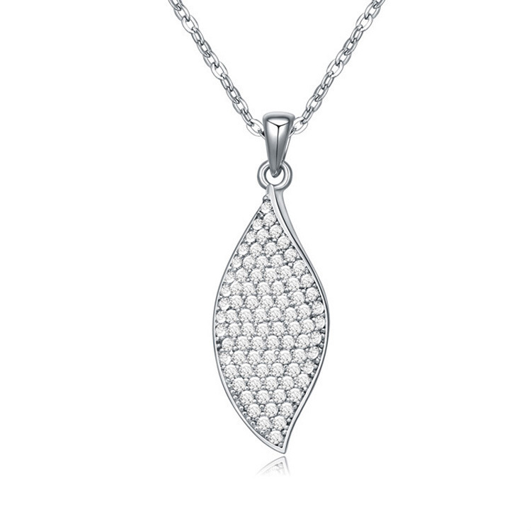 Fashion Design Pendant Necklace With AAA Austrian Zircon Platinum Plated Summer Collection New Jewelry(China (Mainland))