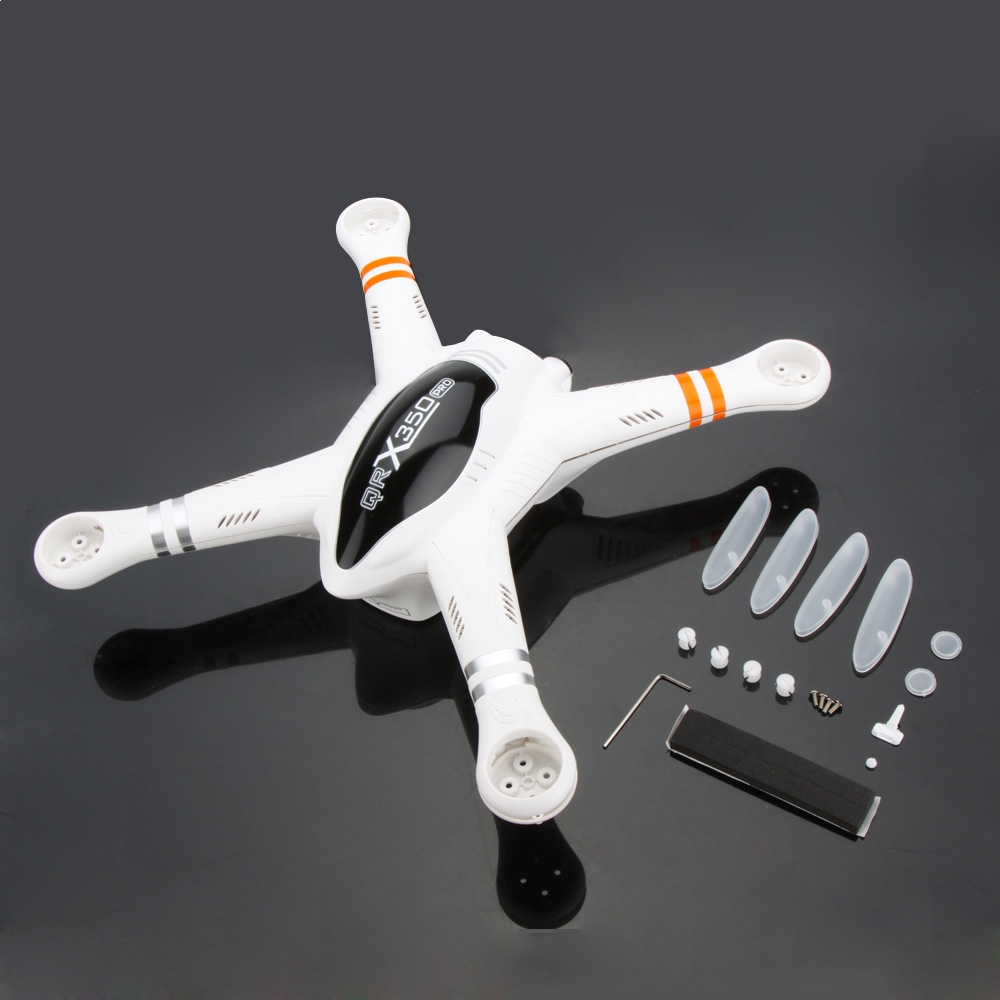 RC Toys & Hobbies Parts Original Walkera QR X350 PRO Body Shell Set QR X350 PRO-Z-02 for Walkera Radio Controlled Quadcopter(China (Mainland))