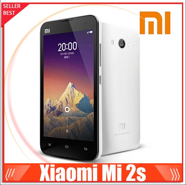 original Xiaomi mi2S WCDMA Quad Core mi2 Camera 13.0MP Android 4.1 4.3 IPS 2GB RAM 16 GB ROM 32 GB ROM 3G Xiaomi Mobile Phone(China (Mainland))