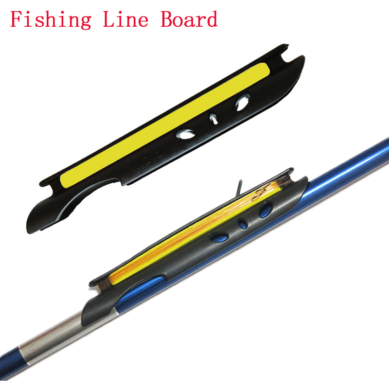 Fishing coiling plate fish line winding board bite alarm for Fish bite rod holders