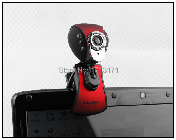 High Quality Mini USB Webcam HD 720P Webcam Skype High-Definition Network Camera For Notebook Desktop Computer Free shipping(China (Mainland))