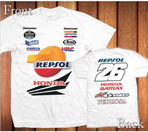 Гаджет  2015 Weishuang T-shirt MOTO No. GP26 motorcycle rider clothing overalls T-shirt None Изготовление под заказ