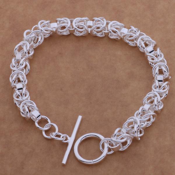 Luxury 925 silver snake chain bracelet for men stainless steel multilayer bracelet fashion string bracelet women free ship AB088(China (Mainland))