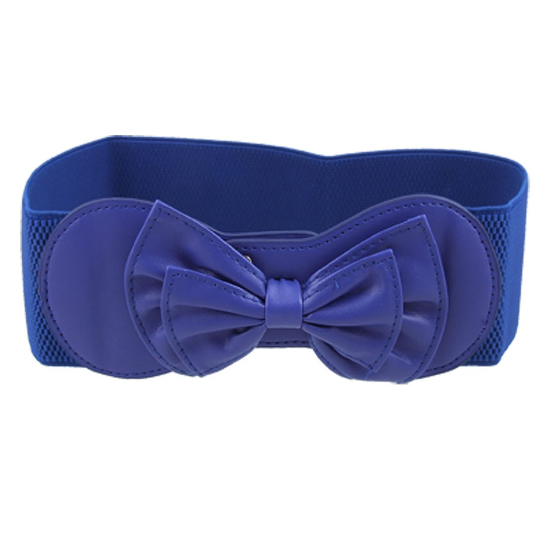 FS Hot Royal Blue Butterfly Knot Buckle Elastic Waist Belt for Ladies(China (Mainland))