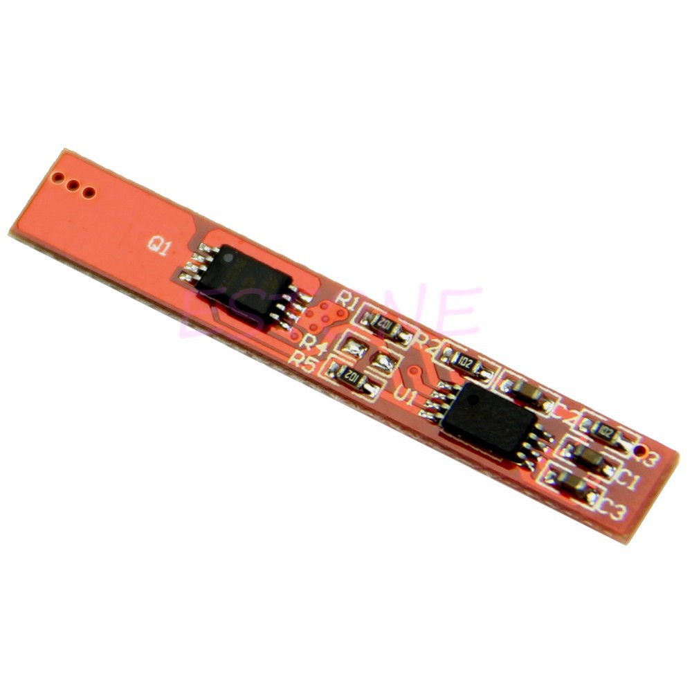 image for Battery Input 2S Li-ion Ouput Polymer Protection Circuit Board PCB 7.2