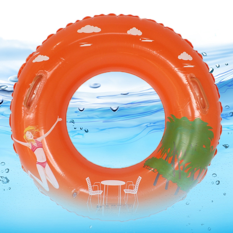 75cm/29 inch Water Sport Toy Swimming Ring Pool Toys Inflatable Lifebuoy For Children Adult Holiday Water Fun(China (Mainland))