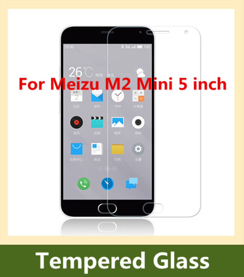 Гаджет  Ultra Thin 9H 2.5D Premium Tempered Glass Screen Protector Anti-scratch Protective Film For Meizu M2 Mini 5 inch None Телефоны и Телекоммуникации