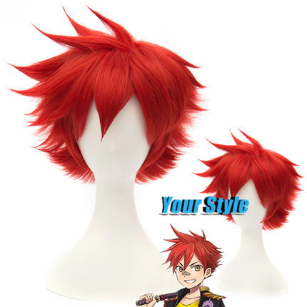 Sword Art Online  Cosplay Wig Short Boy Pixie Cut Wigs  Cheap Hair Wig Burgundy Wigs   Peruca Cosplay Perruque Homme<br><br>Aliexpress